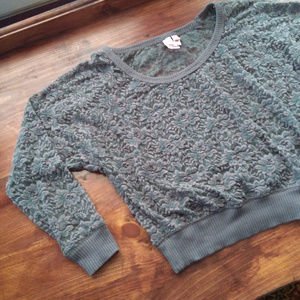 Lacey Fang top with ribbing.